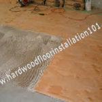 Install Hardwood Floors on Plywood